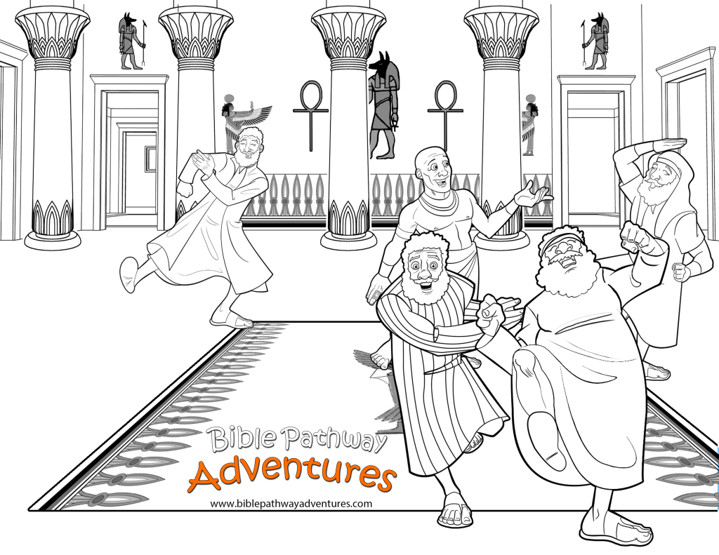 Coloring Pages - A bible storyapp for parents and kids!