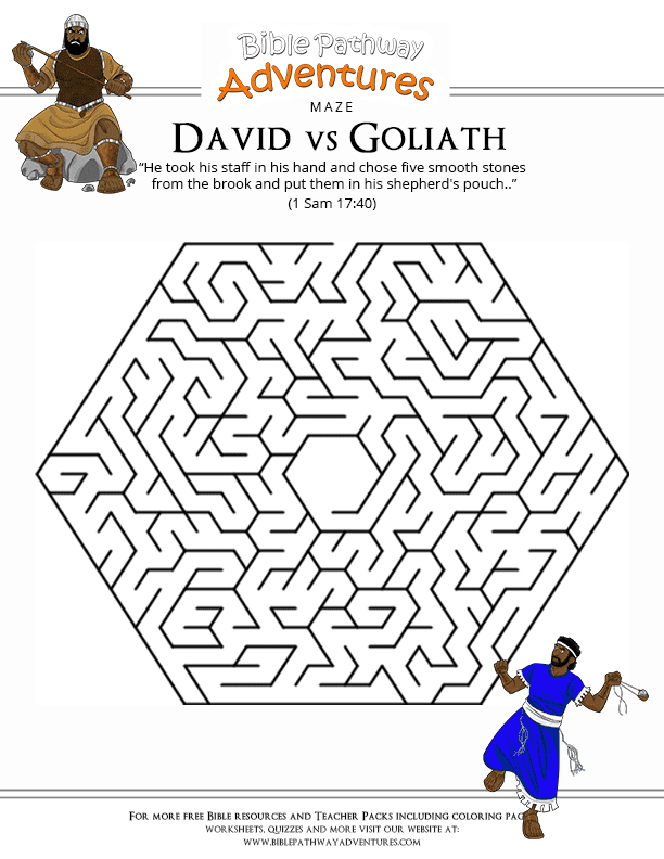 King David Coloring Pages House Design And Decorating Ideas