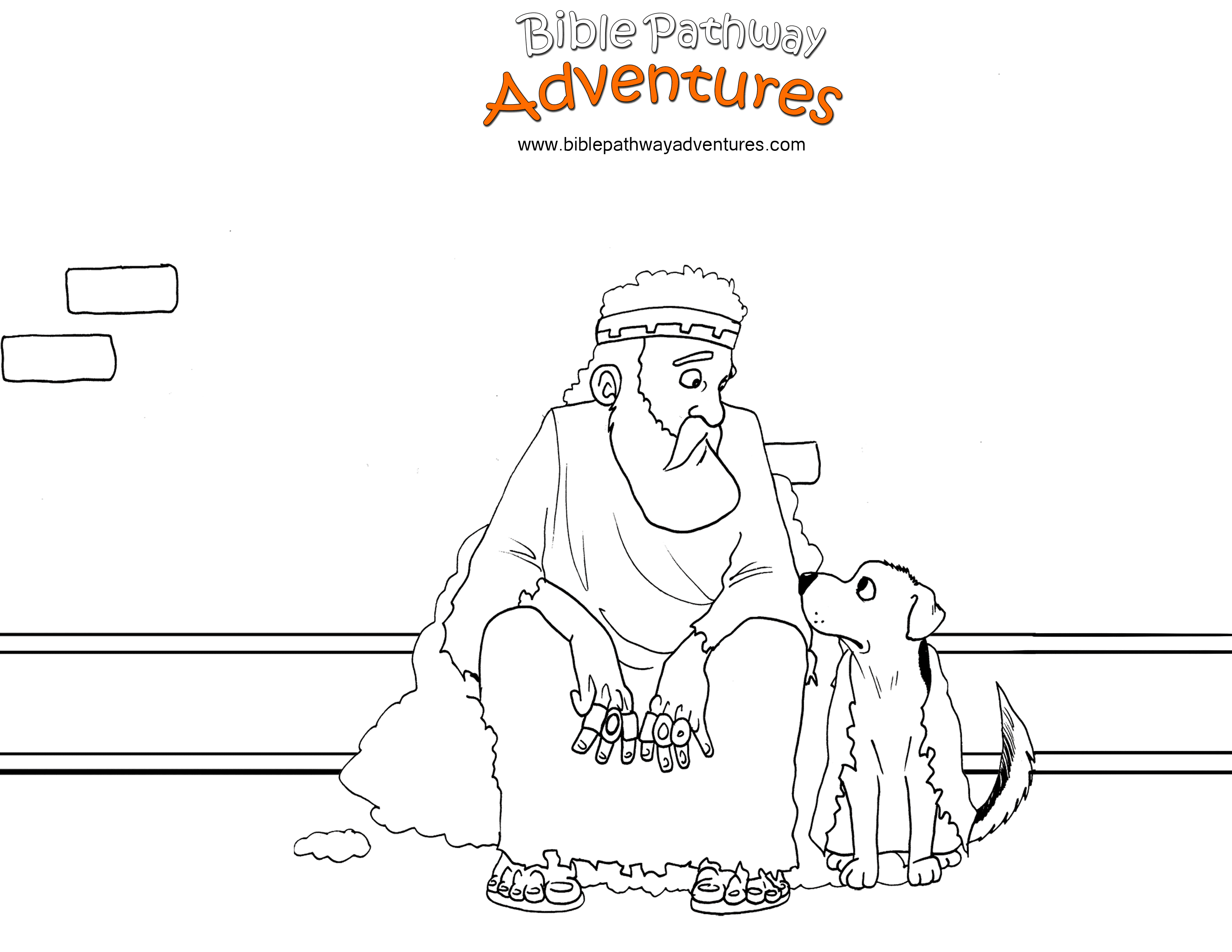 Free Torah Coloring Page The King Of Nineveh Repents