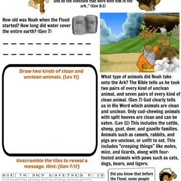 Worksheets Archives - Page 3 of 5 - Bible Pathway Adventures
