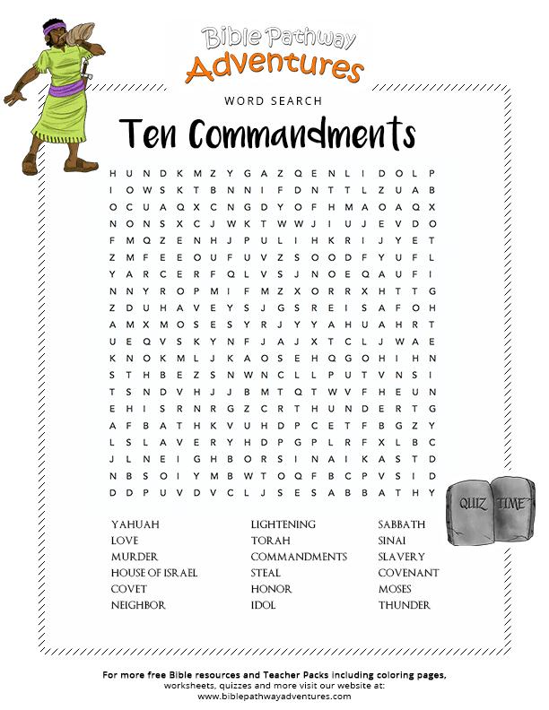 Free Kids Bible Craft The Great Commandment