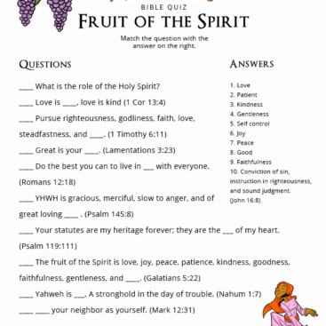 Free Bible Activities for Teachers: worksheets, quizzes, puzzles ...