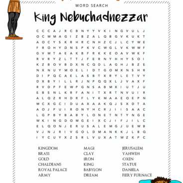 Bible Word Search Puzzles For Kids Free Download