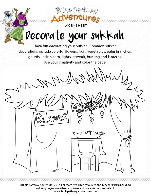 jewish christian kids coloring pages - photo#22