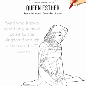 Esther Bible Story | Free printable activities: quizzes & coloring pages